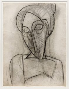 Pablo Picasso, Head and Shoulders of a Woman,